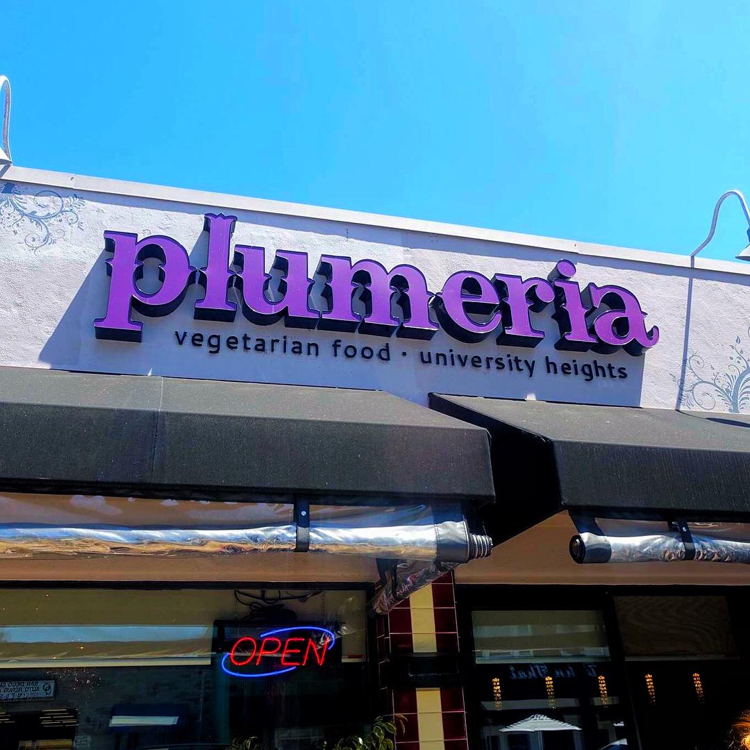 Plumeria Vegetarian Restaurant San Diego Ca