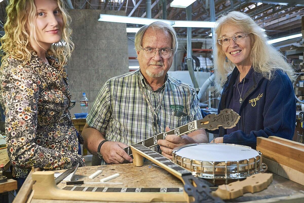 Meet Jamie Deering of Deering Banjo in Spring Valley