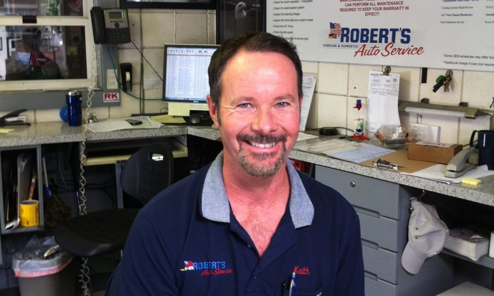 Meet Keith Benline Of Robert S Auto Service In Pacific Beach